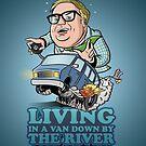 «Viviendo en una furgoneta, junto al río» de pgdn
