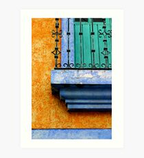 Complementary Colors Art Print