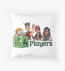 Roleplaying is Awesome Throw Pillow