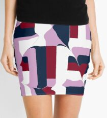organic tiling Mini Skirt