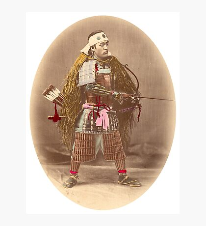 Samurai Archer Photographic Print
