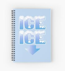 Cuaderno de espiral Ice Ice Baby embarazada anuncio