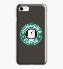 Shirokuma Coffee iPhone Case/Skin