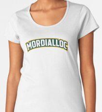 Mordialloc Uniform Wordmark Design Premium Scoop T-Shirt
