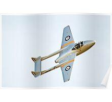 De Havilland  VAMPIRE Poster