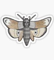 Witchy Aesthetic - Death Witch Moth Sticker