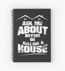 Cuaderno de espiral Pregúnteme acerca de comprar o vender una casa