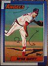 381 - Bryan Harvey by Foob's Baseball Cards
