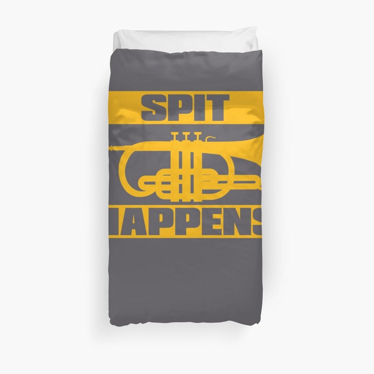 Spit Happens Trumpet Player\
