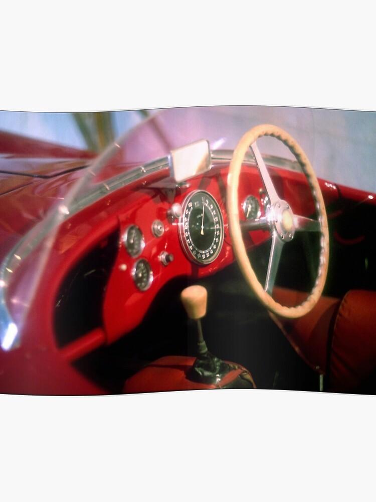 Alfa Romeo Disco Volante >> Dreams Of Alfa Romeo Disco Volante Spider Poster