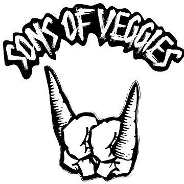 Sons of Veggies Vegans Punk Rock Metal by fuseleven
