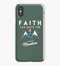 Faith Quote iPhone Case