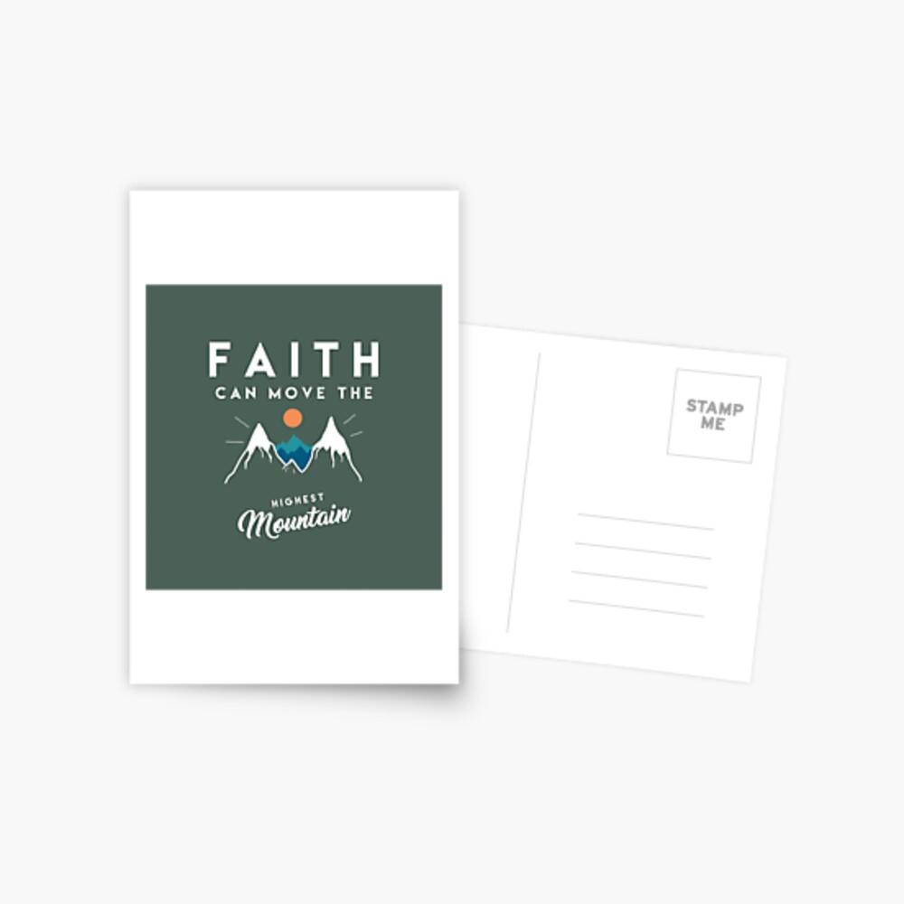 Cita de fe Postal