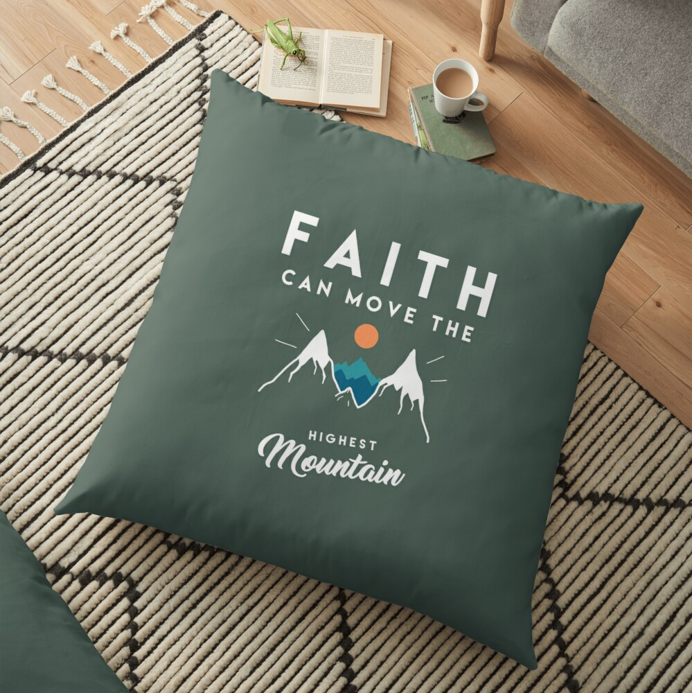 Cita de fe Cojines de suelo