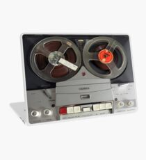 Vintage Reel To Reel Machine Laptop Skin