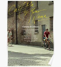 CMBYN Korean Visions of Gideon Poster Poster