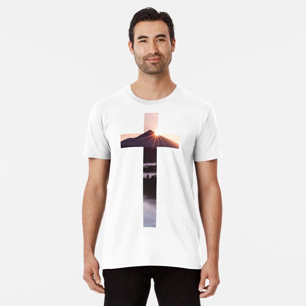 Christliches Kreuz Premium T-Shirt