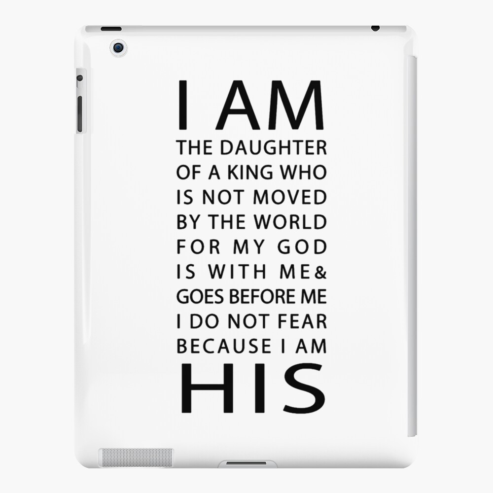 Christian Quote iPad Case & Skin