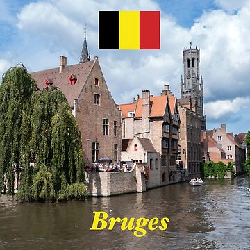 Stunning! Bruges / Brugge Canals in Belgium - Professional Photo by Picturestation