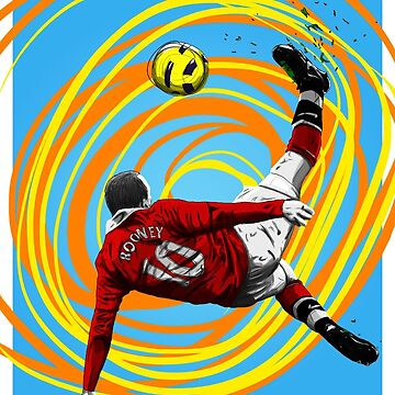Wayne Rooney - MUFC by barrymasterson