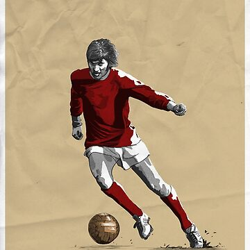 George Best - MUFC by barrymasterson