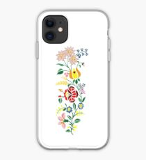 Hungarian embrodery design iPhone Case