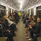 Moscow - Metro Carriage by rsangsterkelly