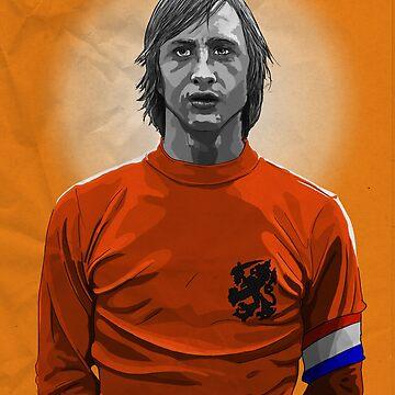 Johan Cruyff - Netherlands by barrymasterson