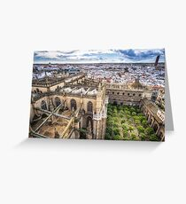 Seville cathedral  Greeting Card