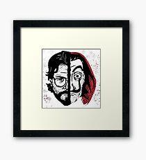 La casa de papel Framed Print