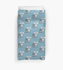 Marvin meets Who? Duvet Cover