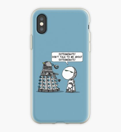 Marvin meets Who? iPhone Case