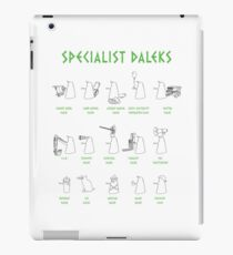 Specialist Daleks iPad Case/Skin