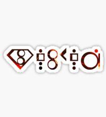 Awesome Seg-El - Krypton Tee Men Women Sticker