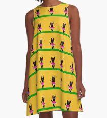 Mushu Dance A-Line Dress