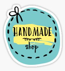 handmade shop Sticker