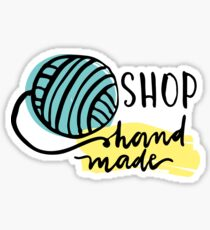 shop handmade Sticker