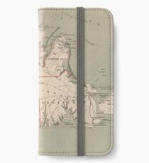 Vintage Map of Martha's Vineyard (1891) iPhone Wallet/Case/Skin