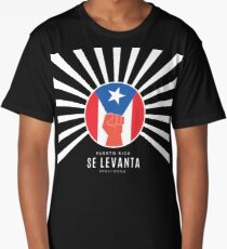 Puerto Rico Se Levanta Long T-Shirt