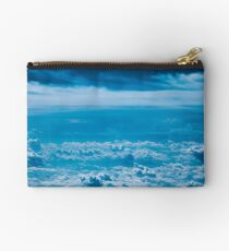 Blue Sky Above the Clouds Studio Pouch