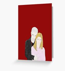 Buffy + Spike Greeting Card