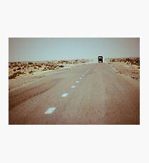 1250km to go Photographic Print