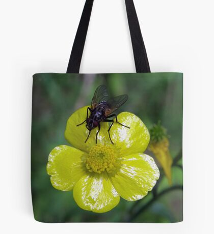 Fly On Buttercup Tote Bag
