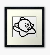 Riding Free - Kirby Framed Print