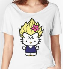 Majin Kitty Women's Relaxed Fit T-Shirt
