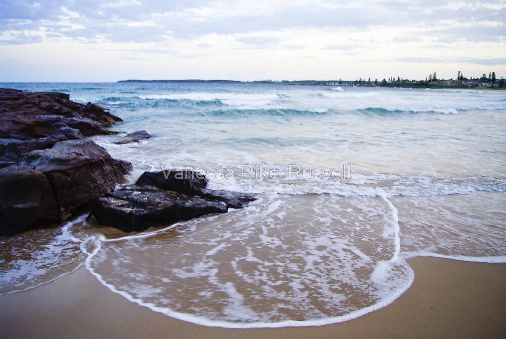 Waterscapes: Barrack Point Headlands by Vanessa Pike-Russell