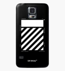 Off-White Diagonals Temperature (Dark) Case/Skin for Samsung Galaxy