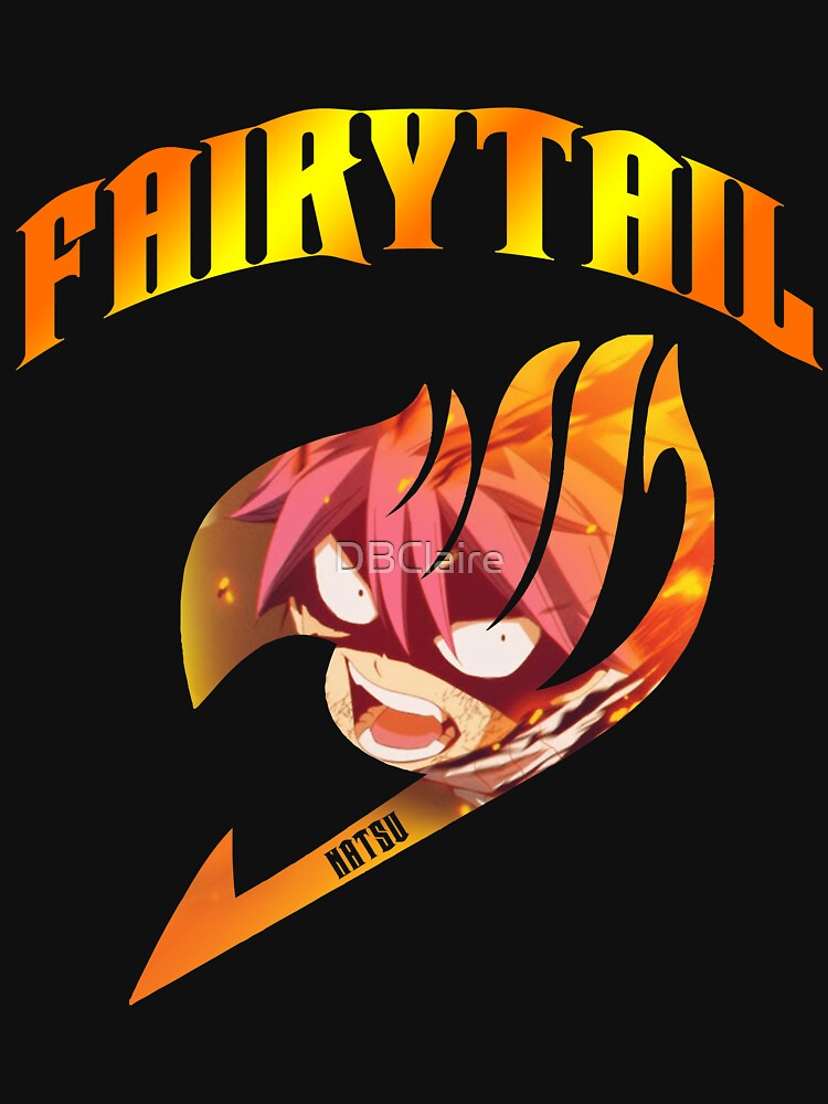 Fairy Tail Natsu Inside Guild Symbol Unisex T Shirt By Dbclaire