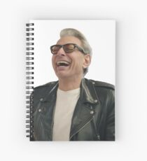 Jeff Goldblum Laughing Spiral Notebook