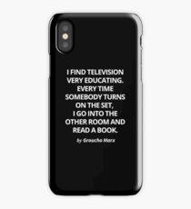 Groucho Marx iPhone Case